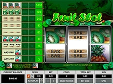 Tropical Punch Night Dream 3 Lines Slot - Play for Free Now