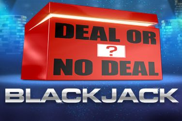 Deal Or No Deal Blackjack